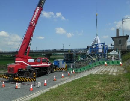 藤野排水樋管補修工事 完成ご報告